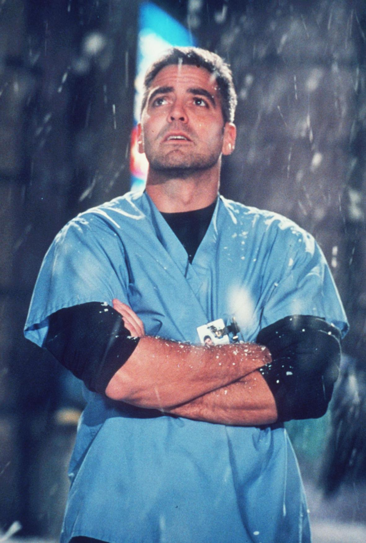 george clooney in er getty image