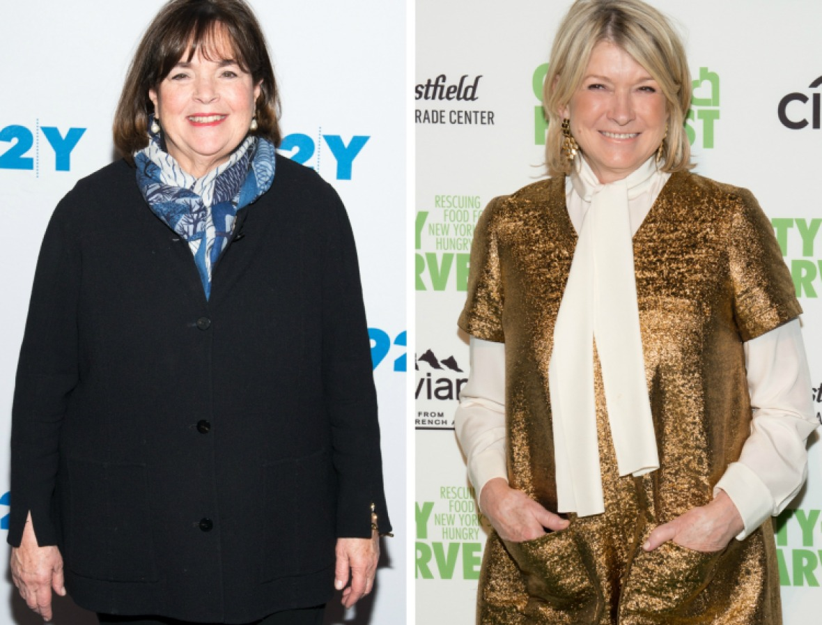 ina garten martha stewart getty images