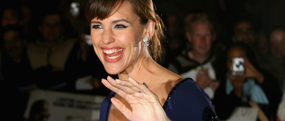 jennifer garner laughing