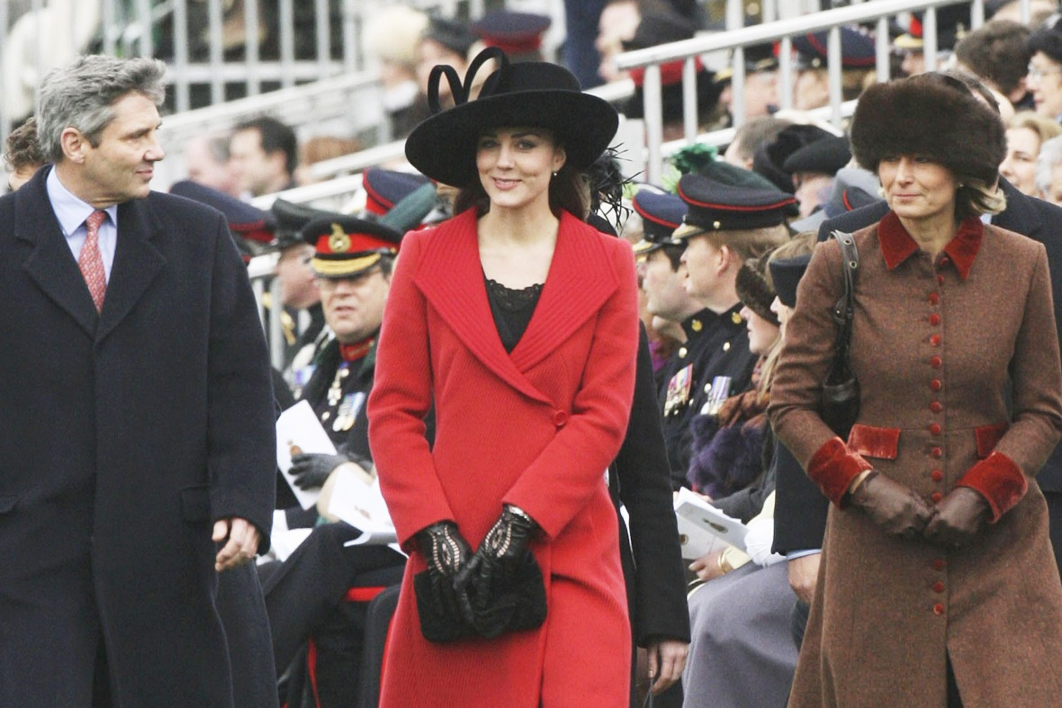 kate middleton parents getty images
