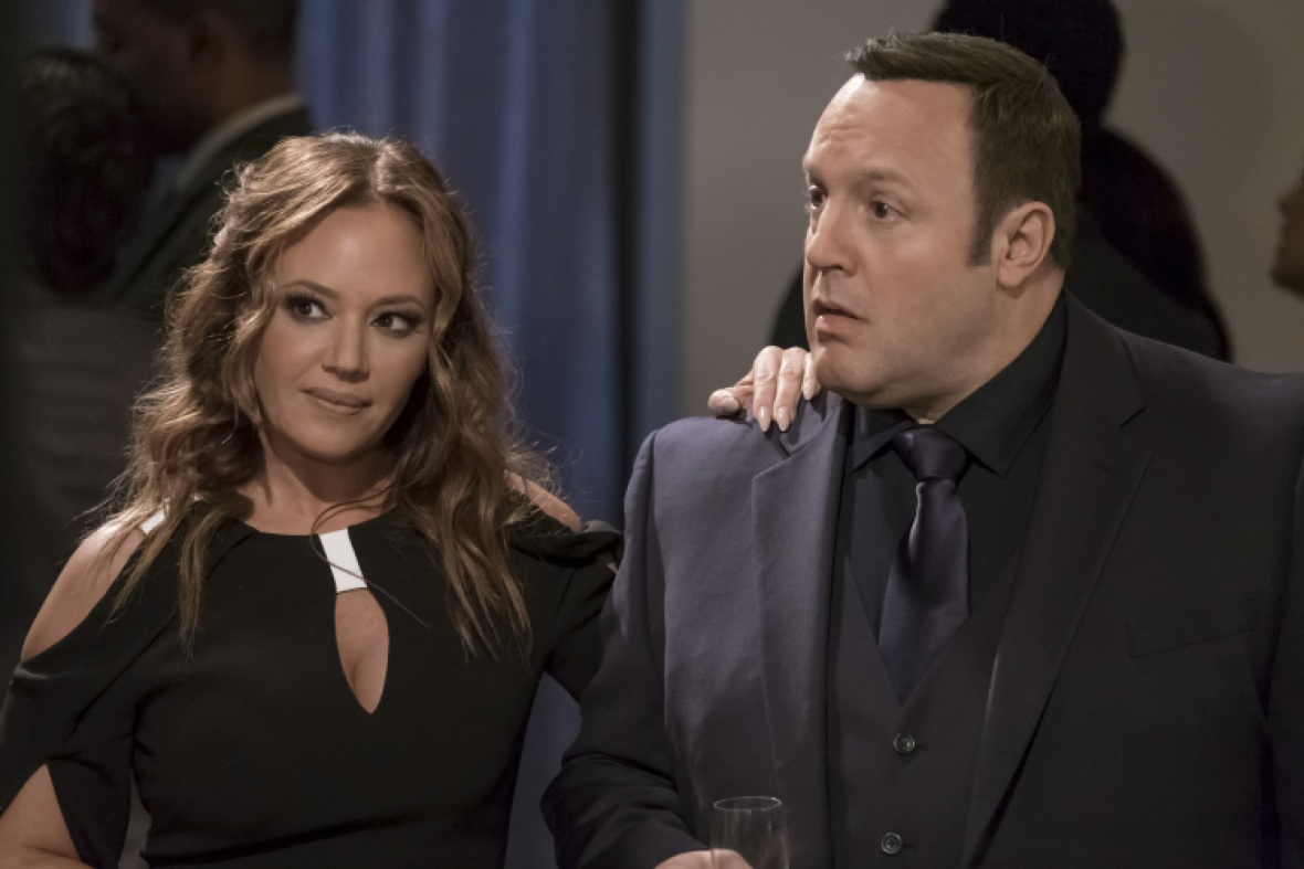 leah remini kevin james 'kevin can wait' getty images
