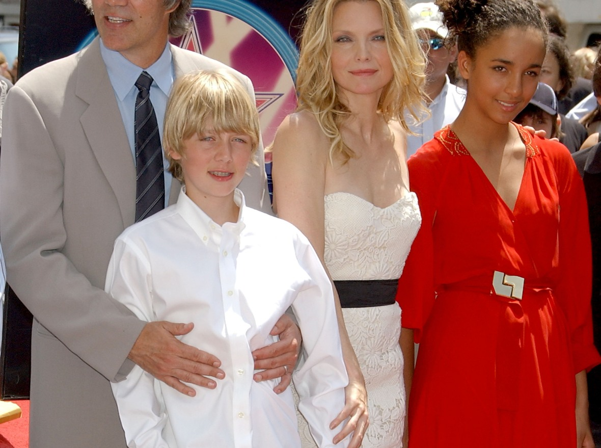 michelle pfeiffer kids - getty