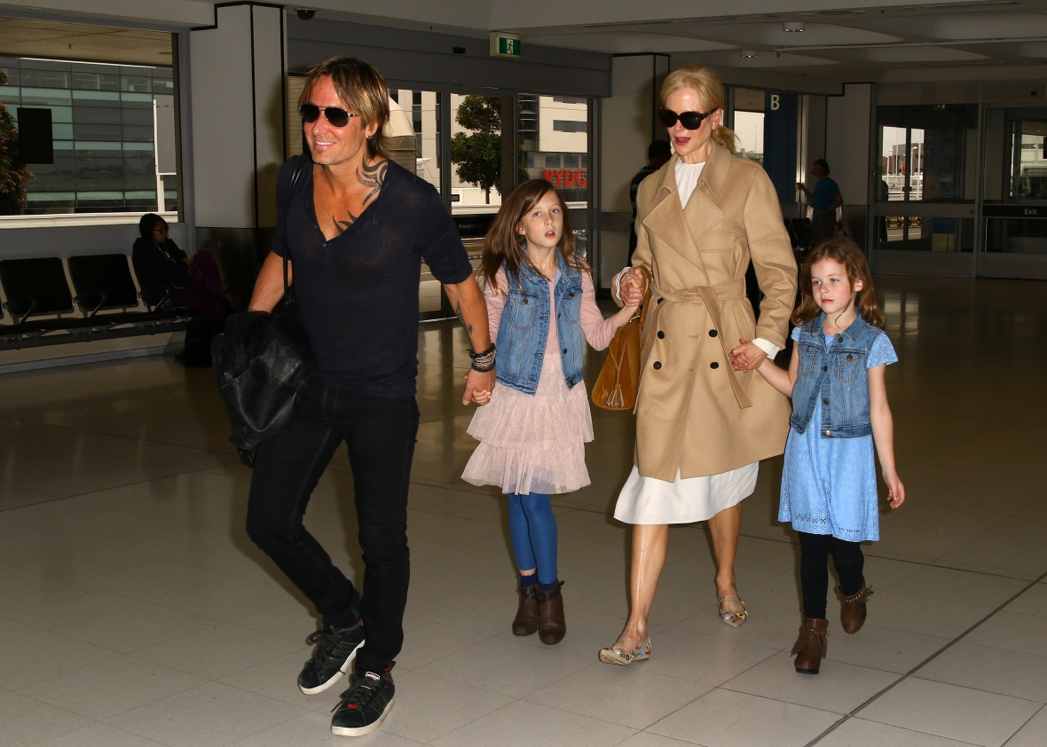 nicole kidman daughters getty images