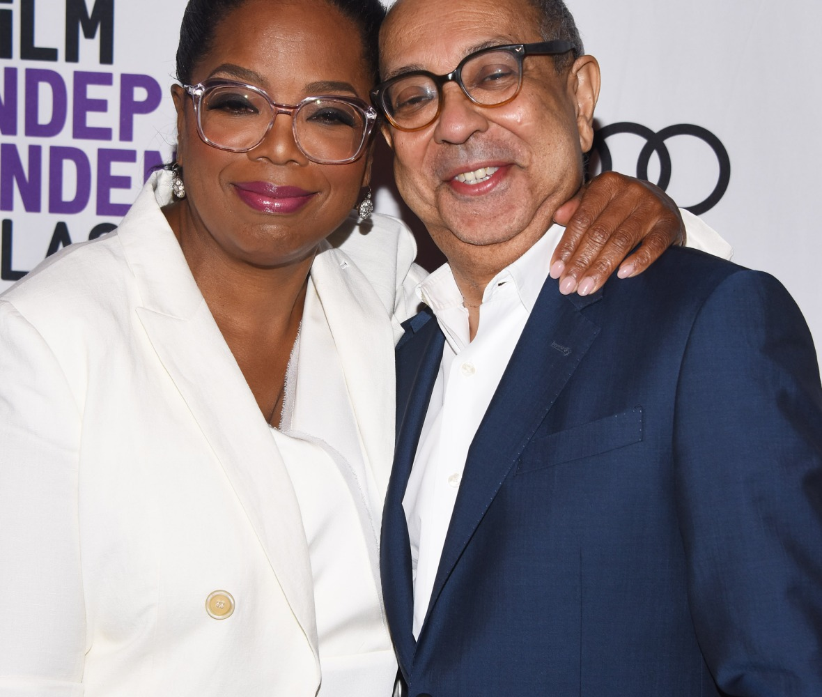 oprah winfrey george c. wolfe getty images