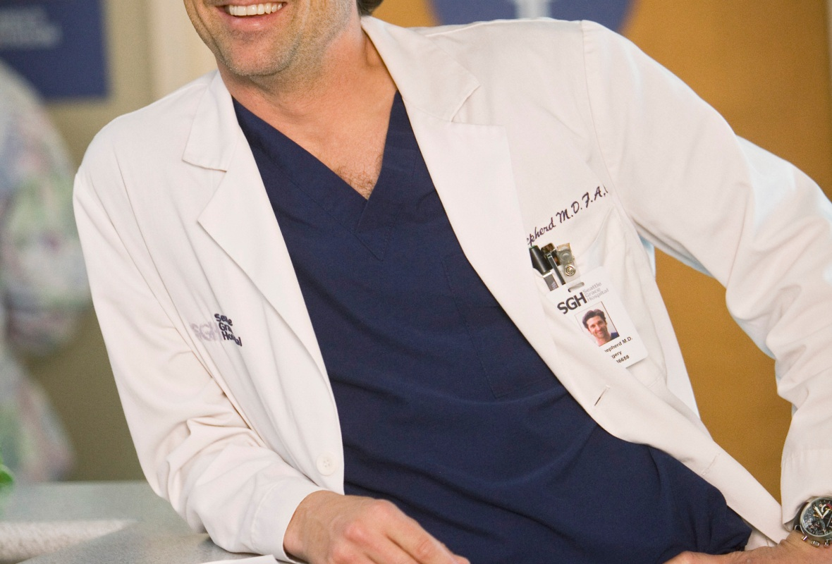 patrick dempsey greys anatomy getty images