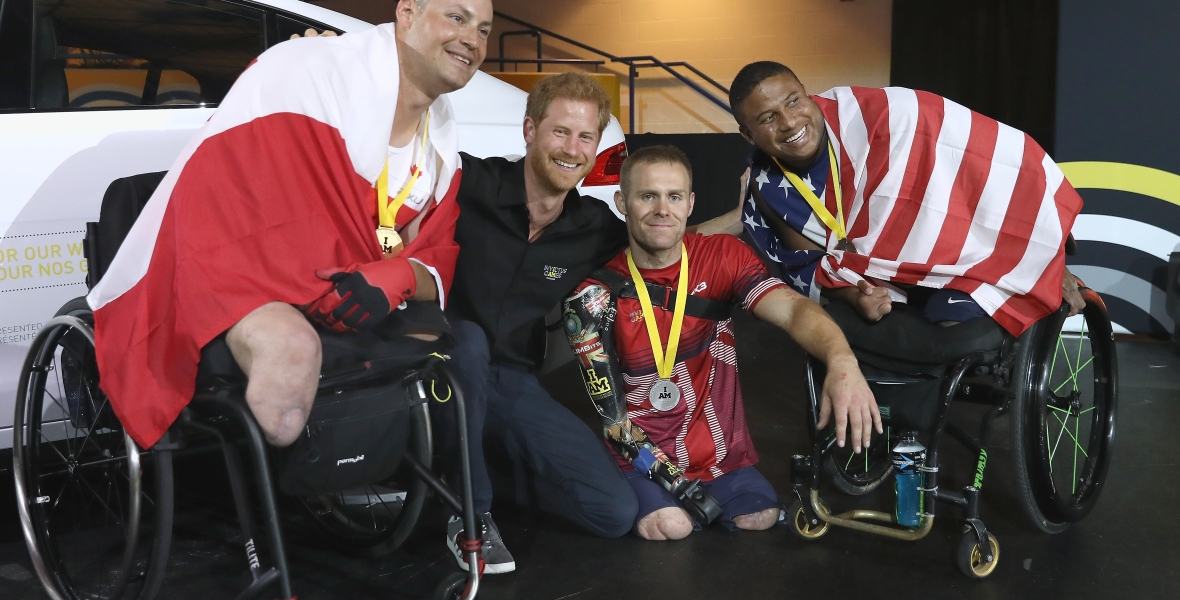 prince harry invictus games getty