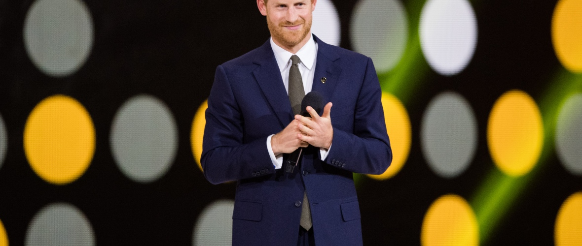 prince harry invictus games getty images