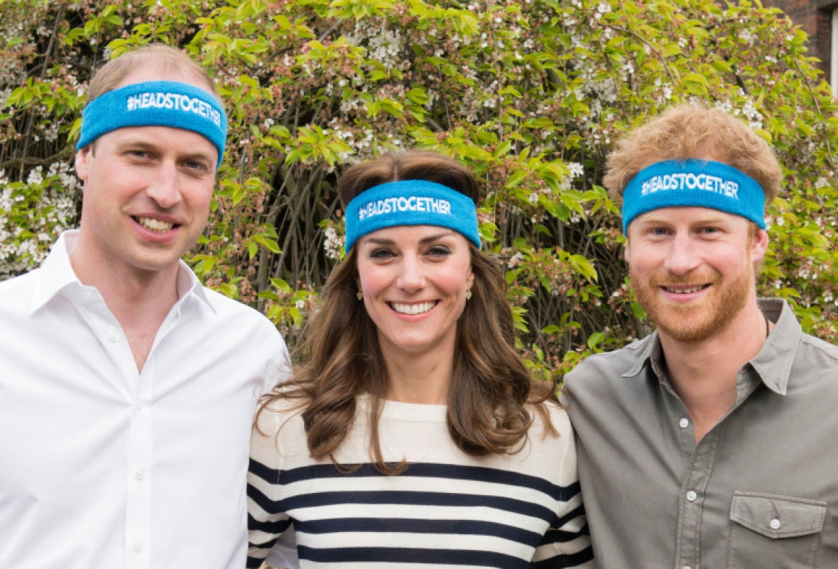 prince william, prince harry & kate — getty