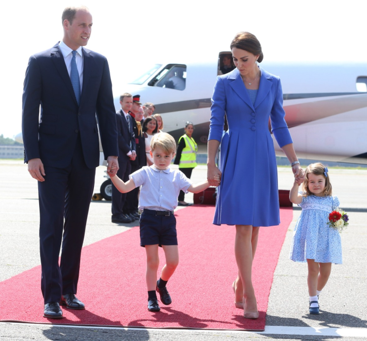 prince george kate middleton prince george princess charlotte getty images