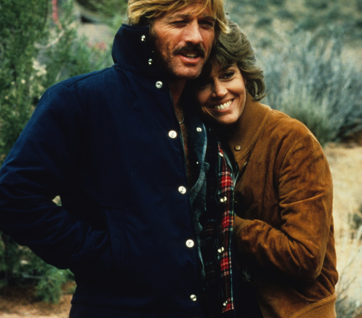 robert redford jane fonda - getty