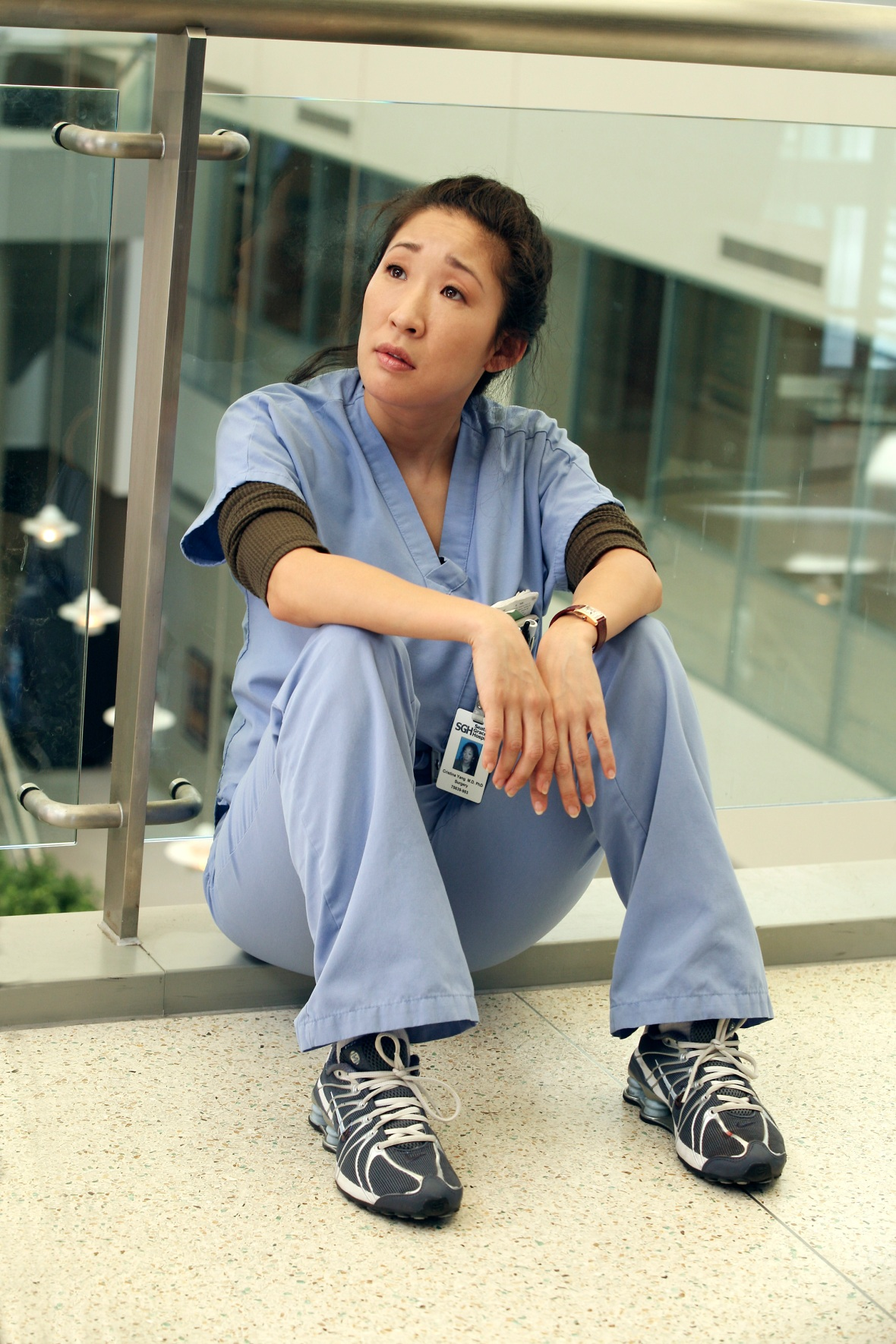 sandra oh greys anatomy getty images