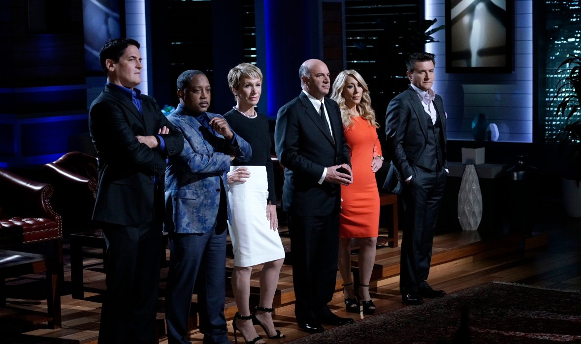 'shark tank' cast getty images