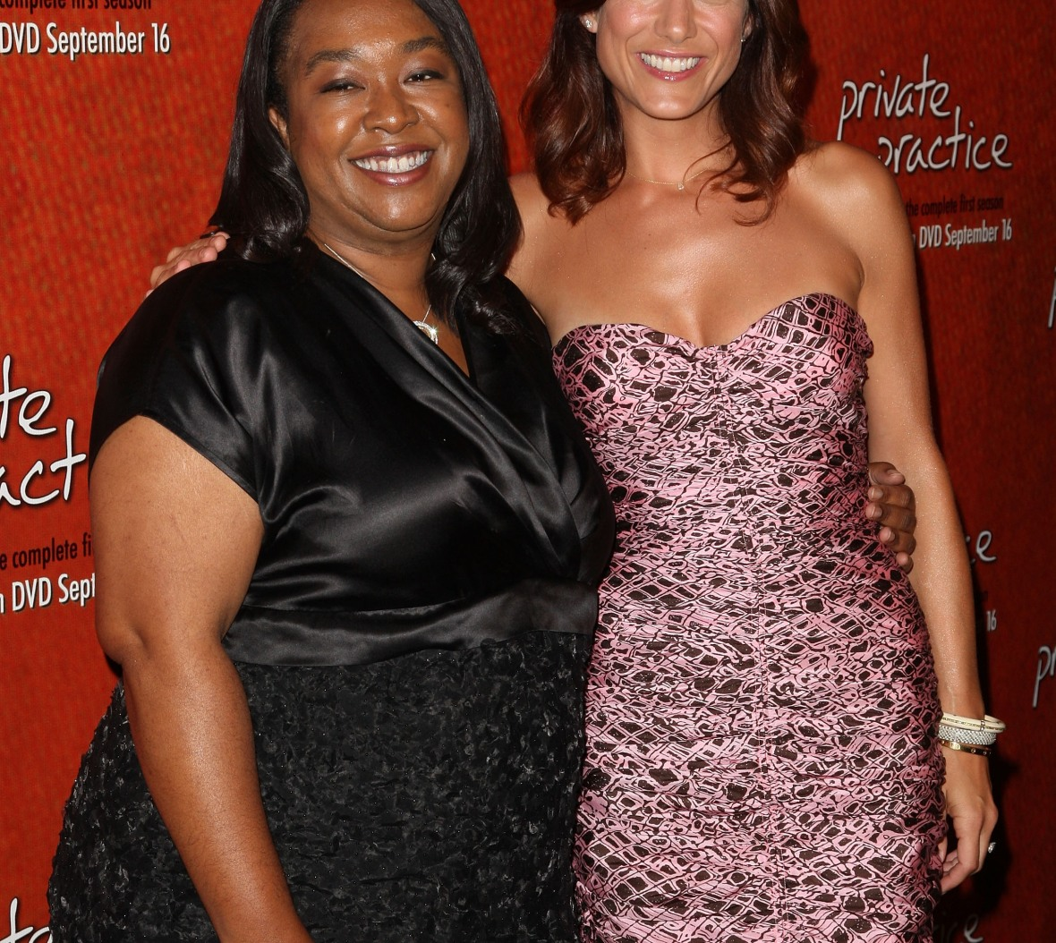 shinda rhimes and kate walsh - getty