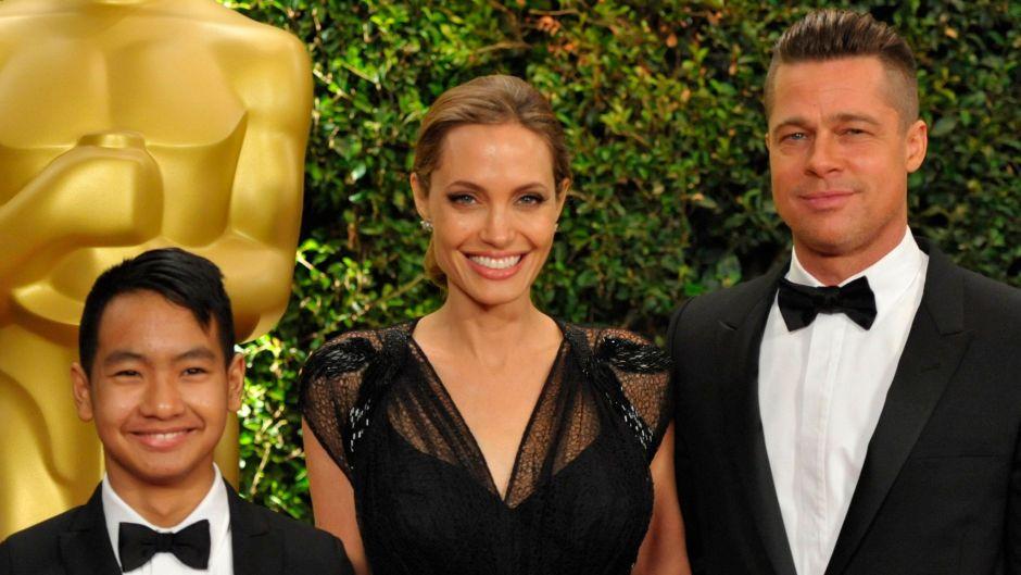 Angelina Jolie and Brad Pitt son Maddox