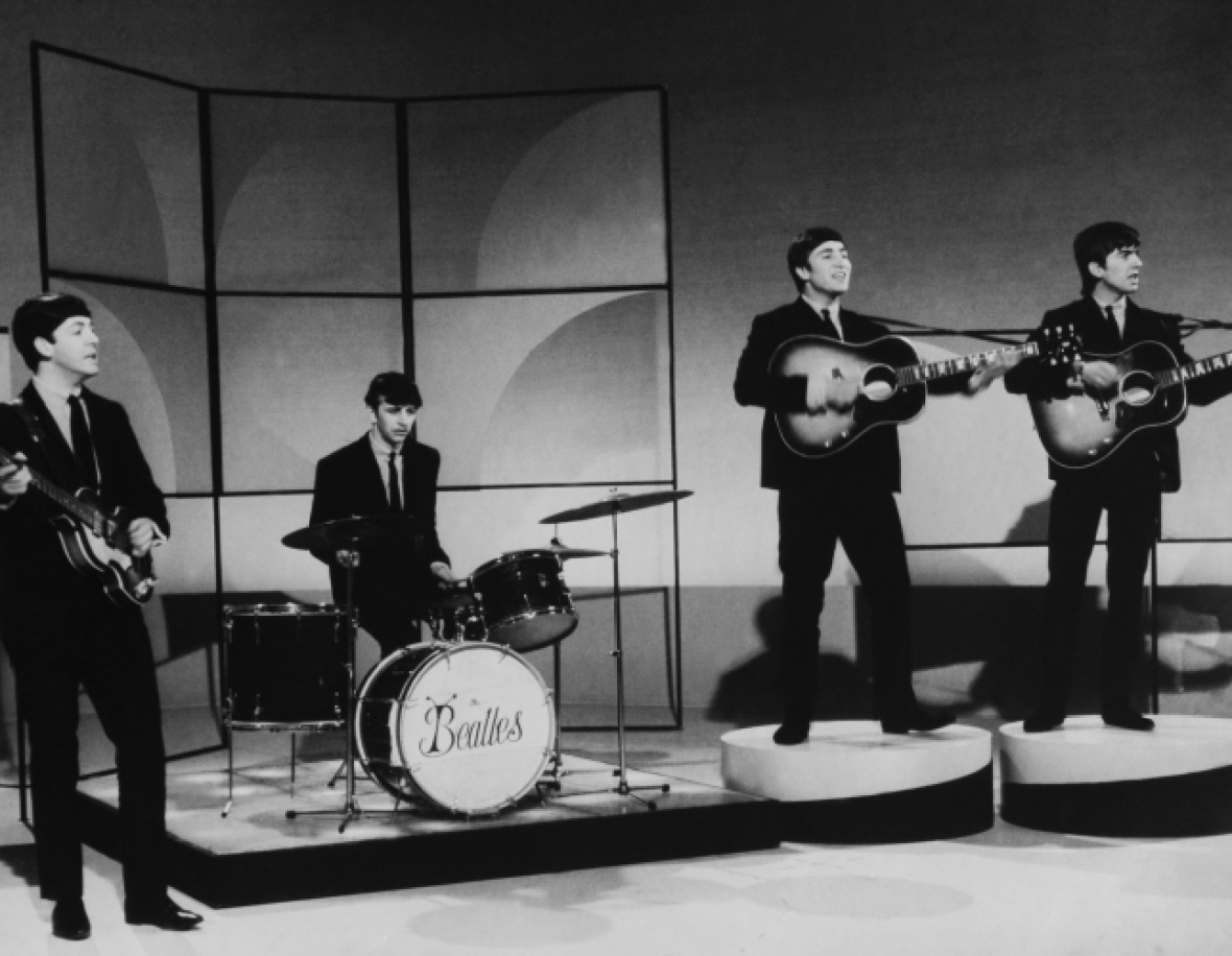 the beatles getty images
