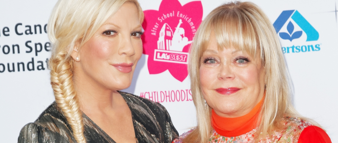 candy spelling tori spelling getty images