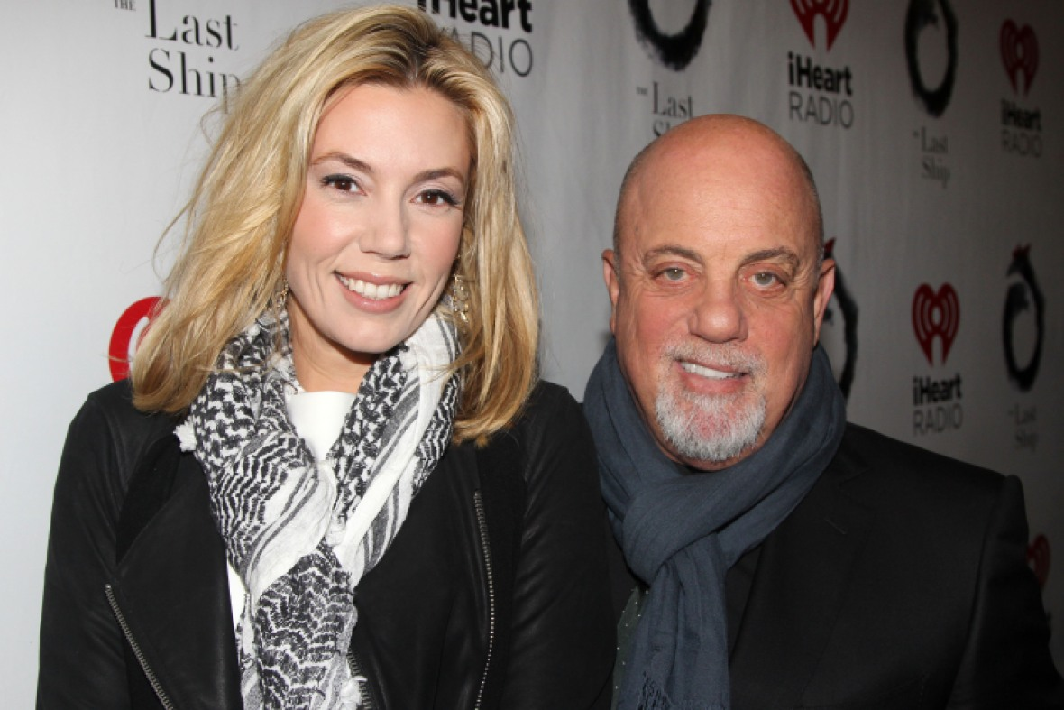 billy joel and alexis roderick, getty images