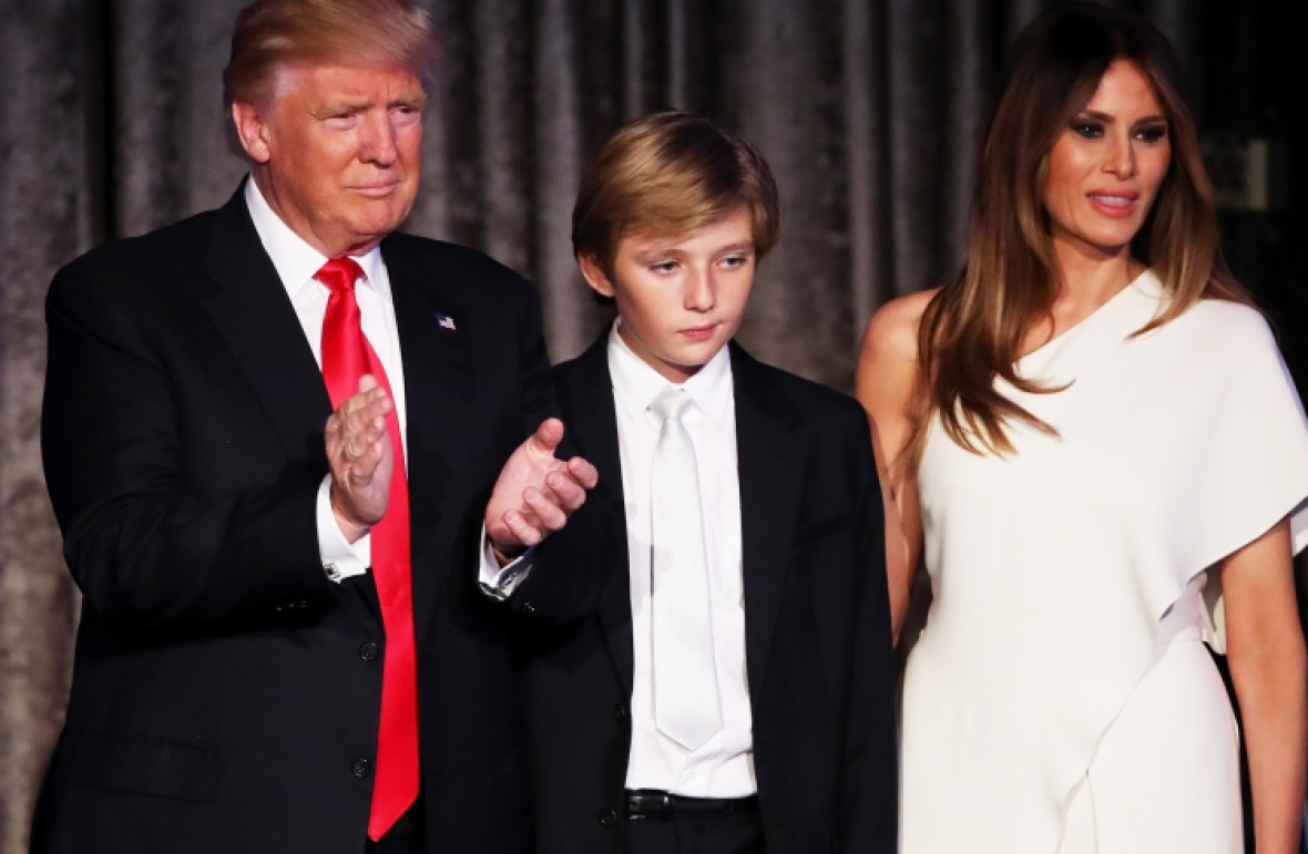 barron trump getty images
