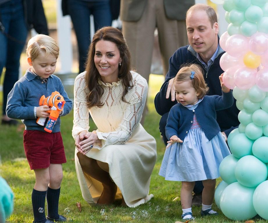 british royal family canada