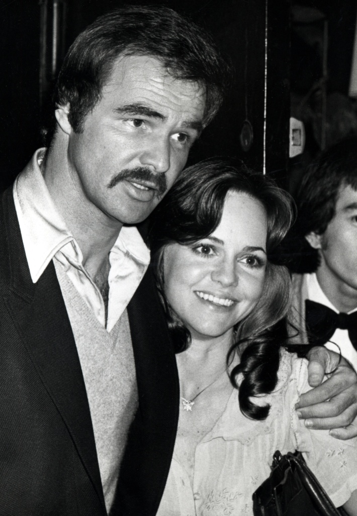 Sally Field and Burt Reynolds
