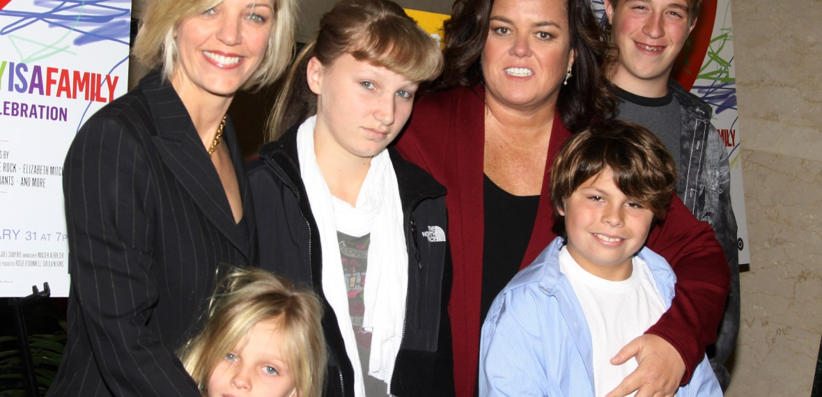 rosie o donnell family - getty