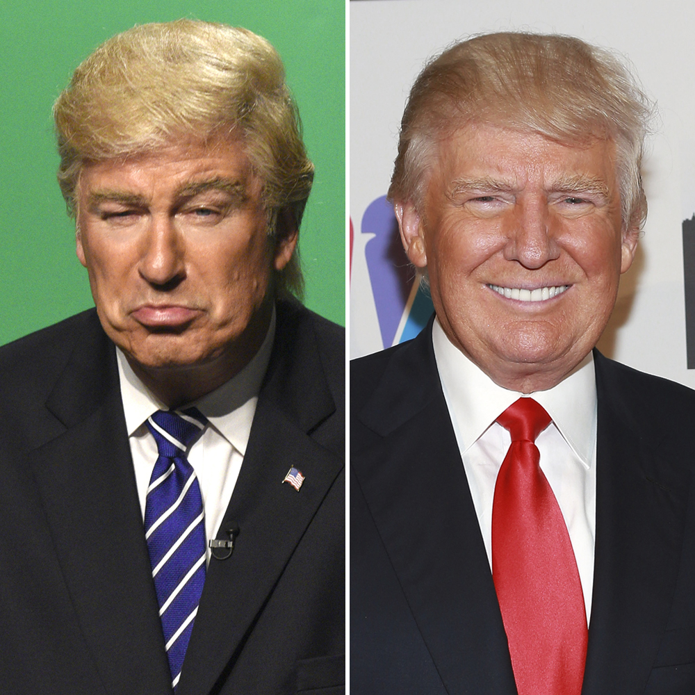 donald trump alec baldwin 'snl' getty images