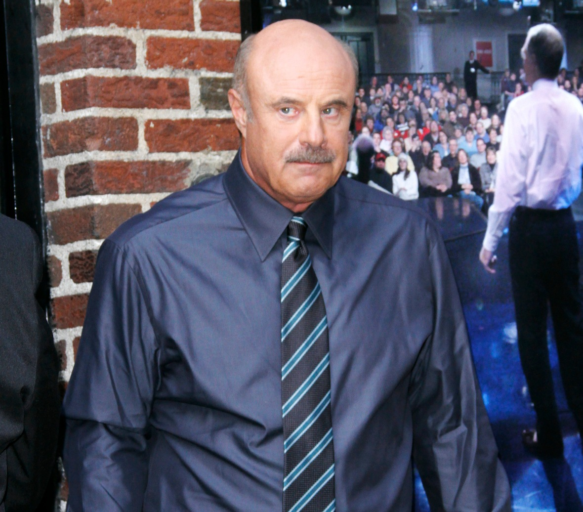 dr. phil car crash getty