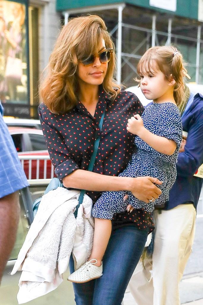 Eva Mendes Daughter
