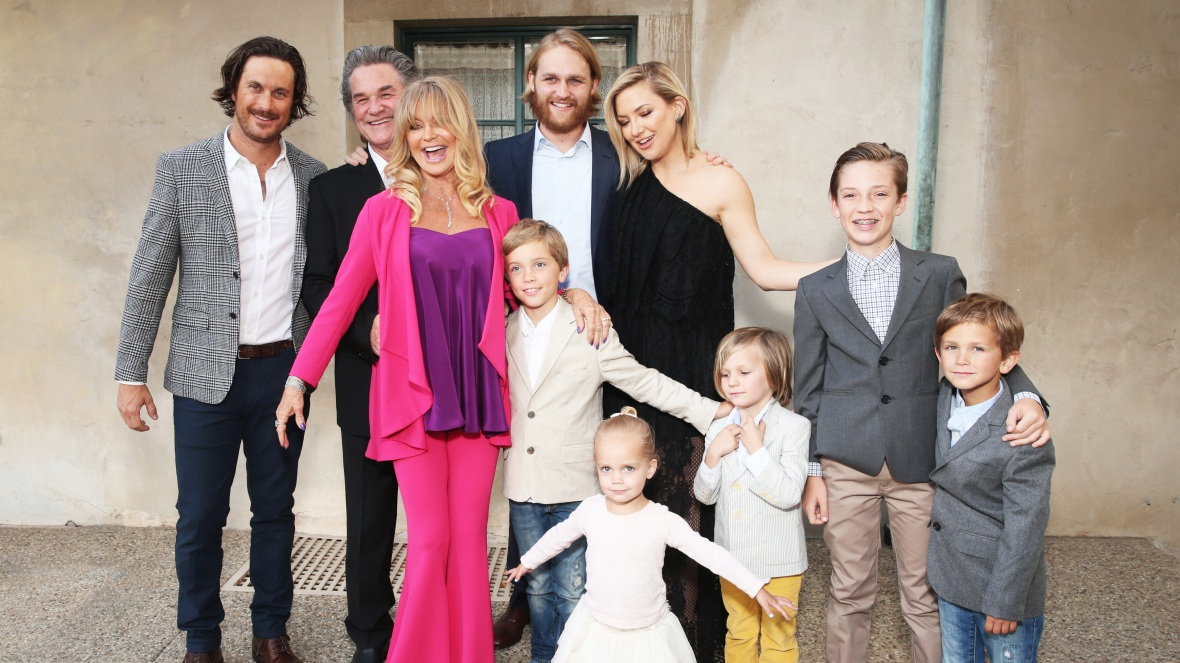 goldie hawn kurt russell family getty images