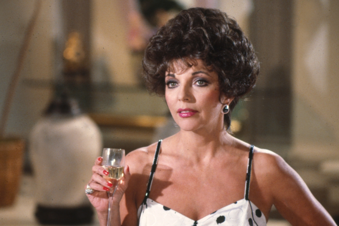 joan collins, getty images