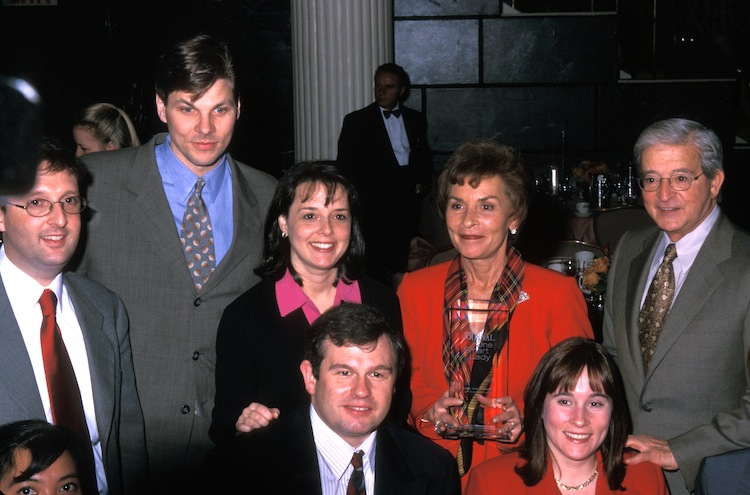 judge judy family — getty