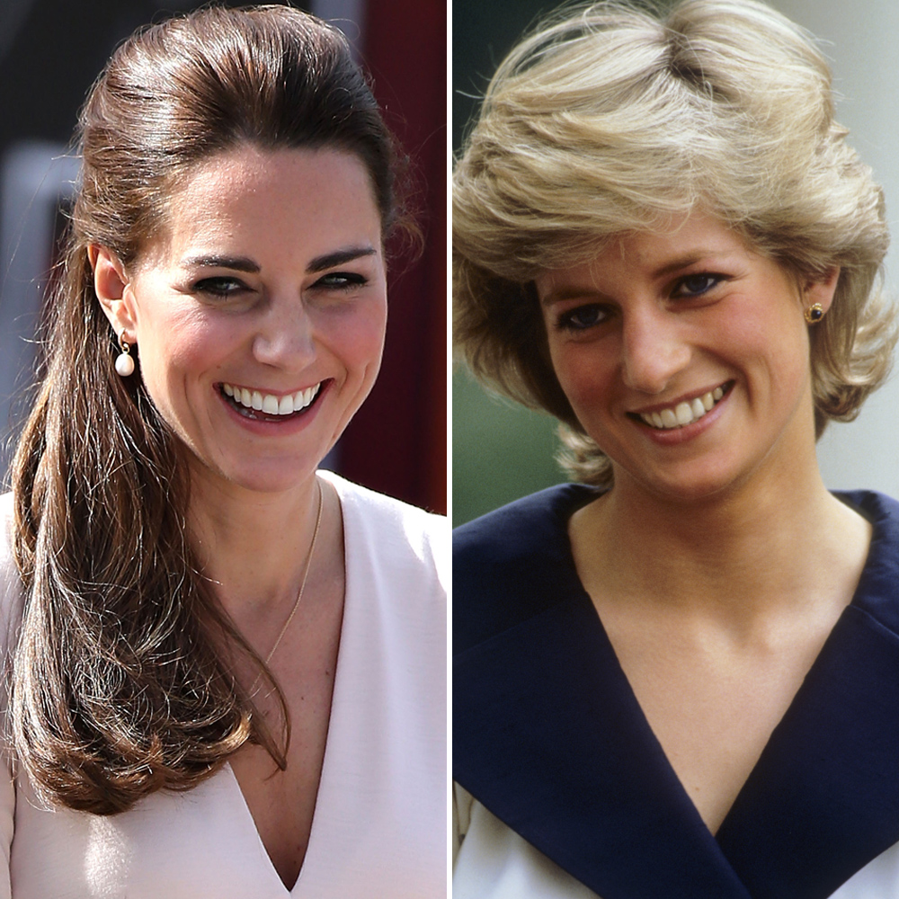 kate middleton princess diana getty images