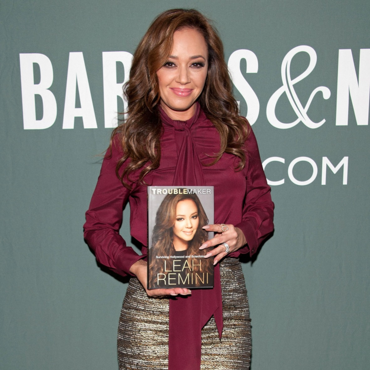 leah remini book getty images