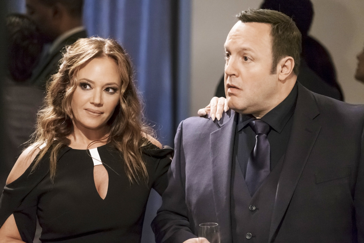 leah remini kevin james getty images