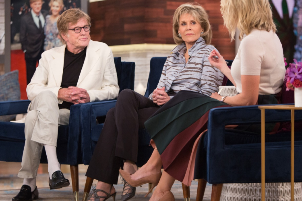 megyn kelly, jane fonda, robert redford, getty images