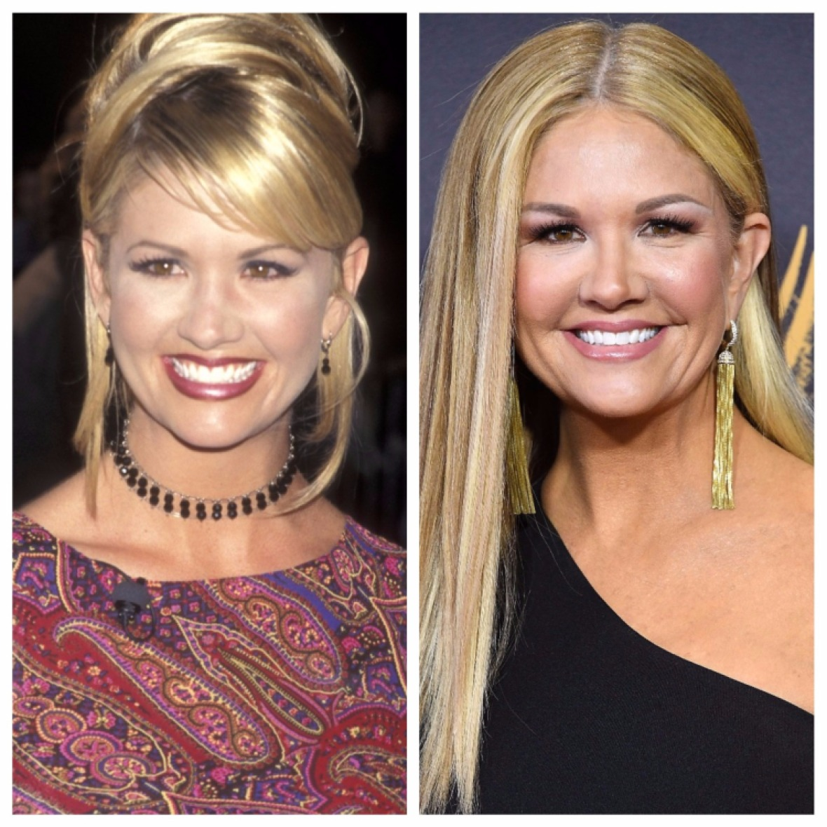 nancy o'dell then & now getty images