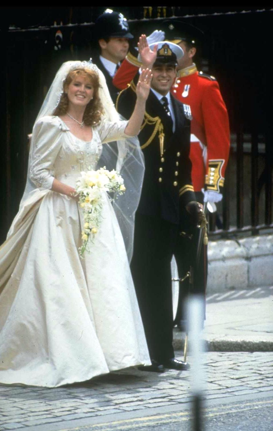 prince andrew and sarah ferguson getty images