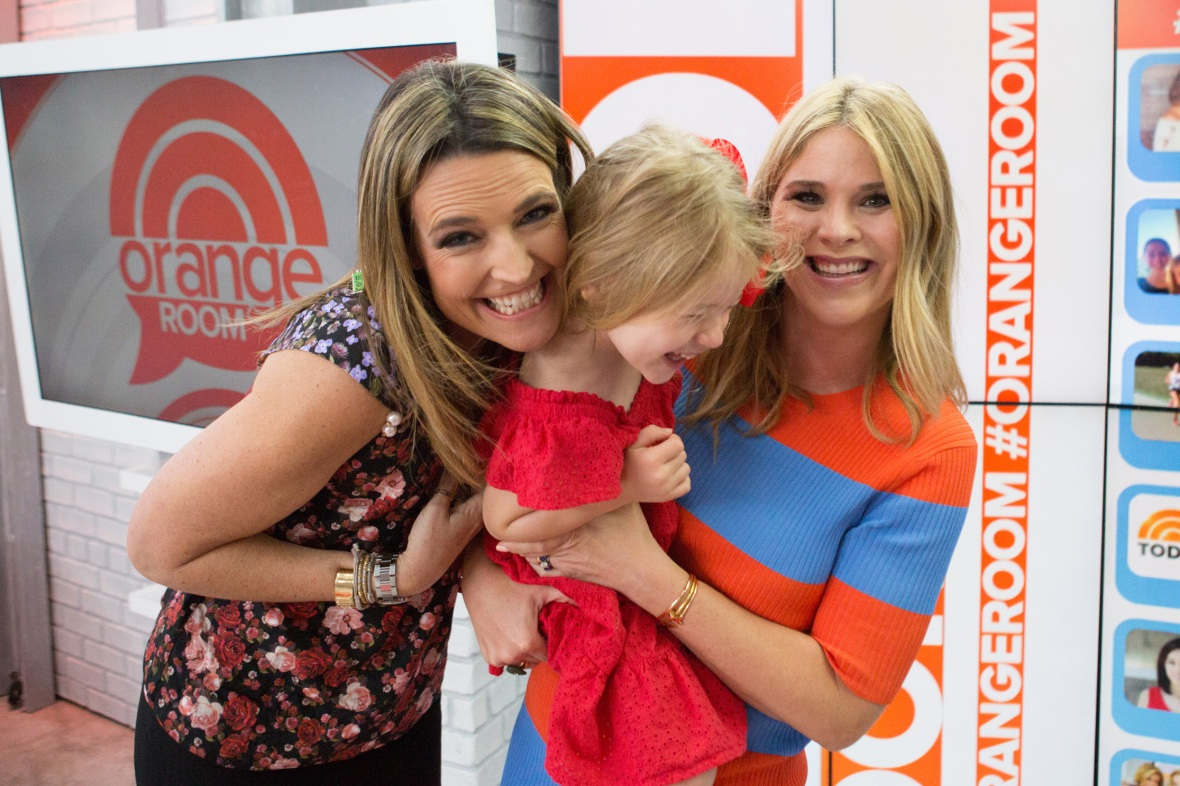 savannah guthrie jenna bush hager getty images