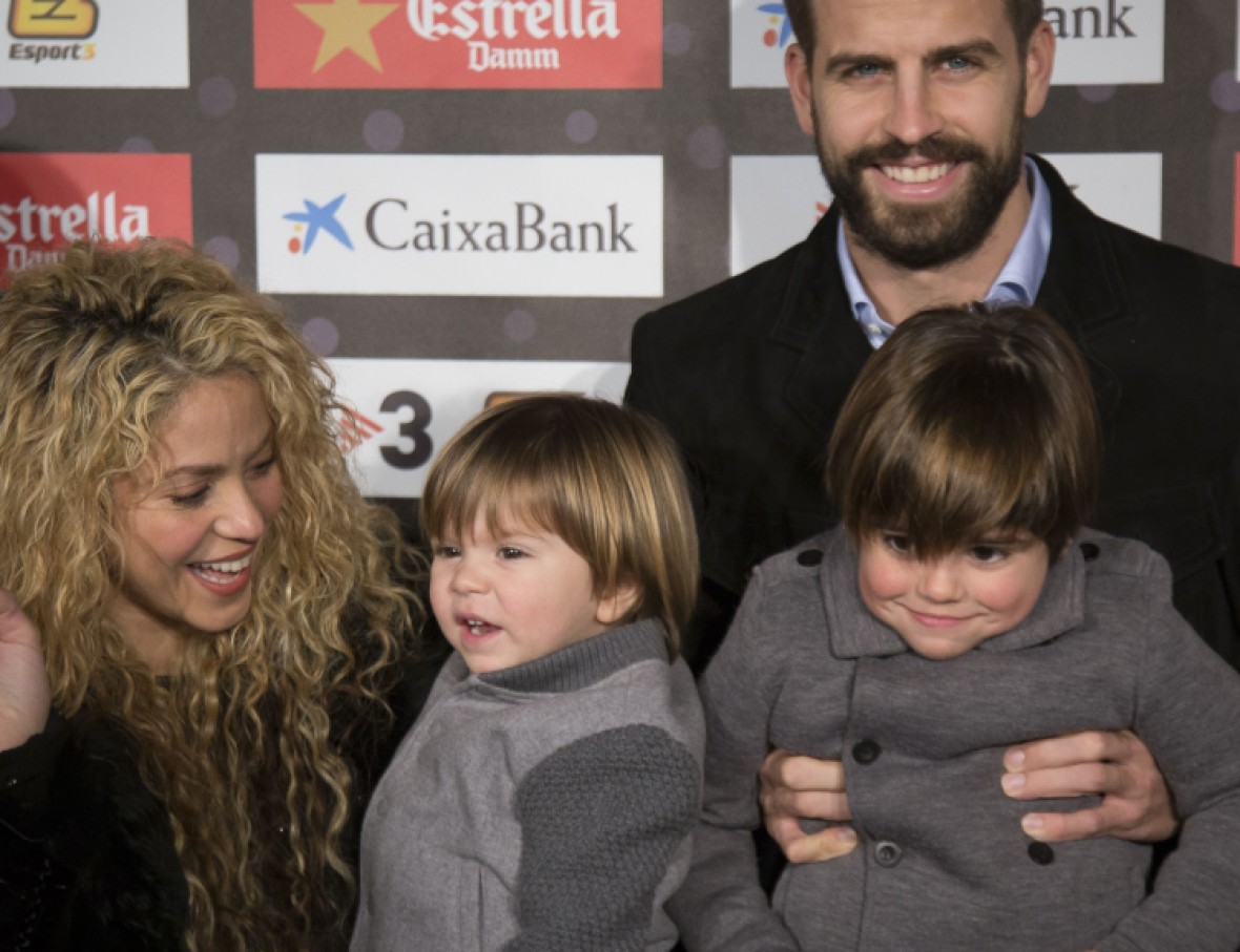 shakira gerard piqué kids getty images