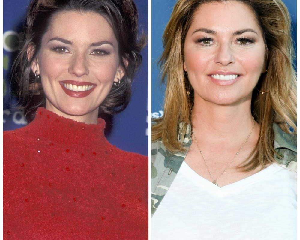 shania twain then now