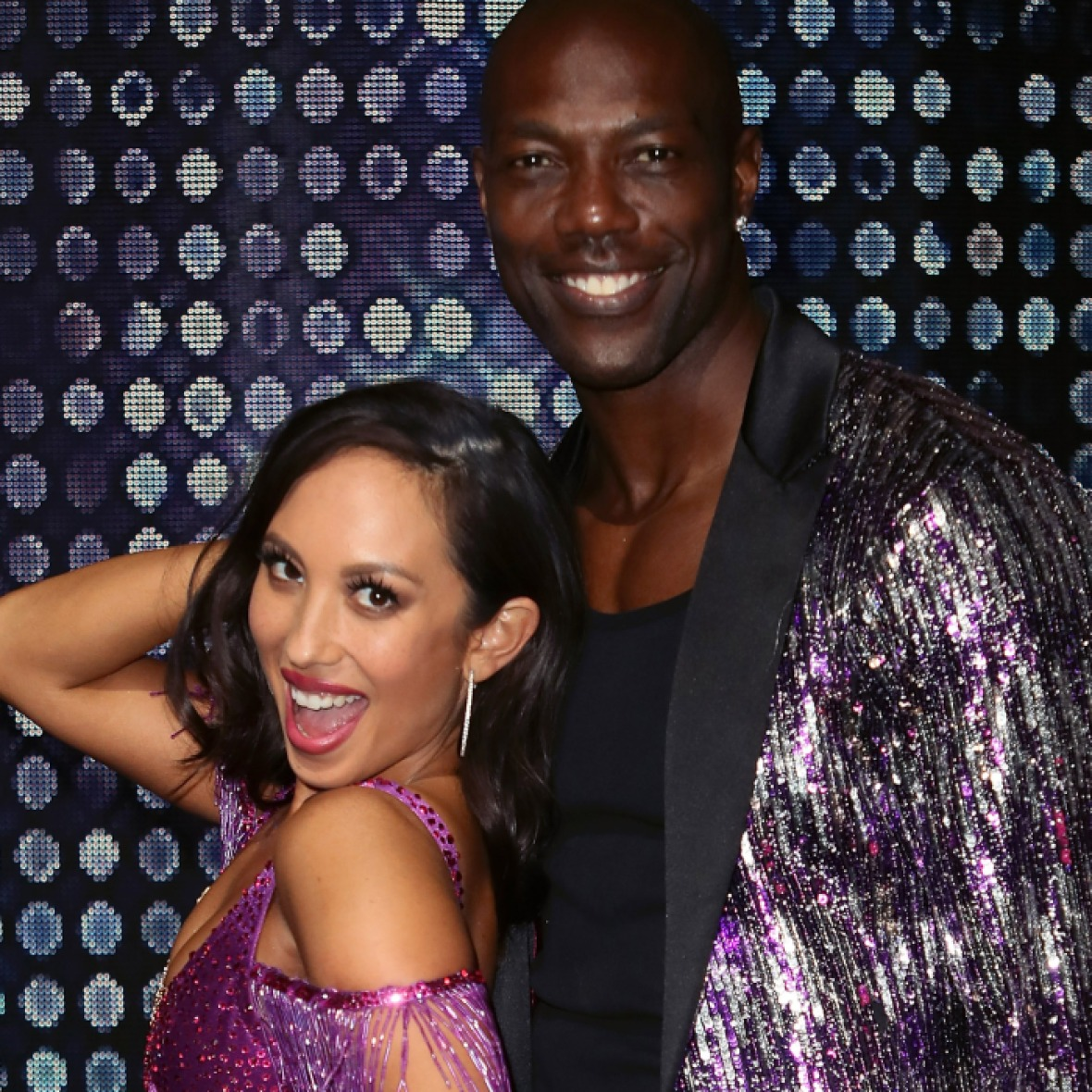 terrell owens cheryl burke getty images