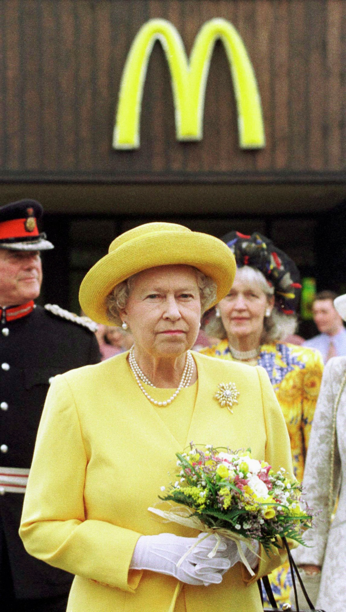 the queen getty images