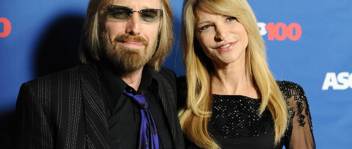 tom petty wife getty images