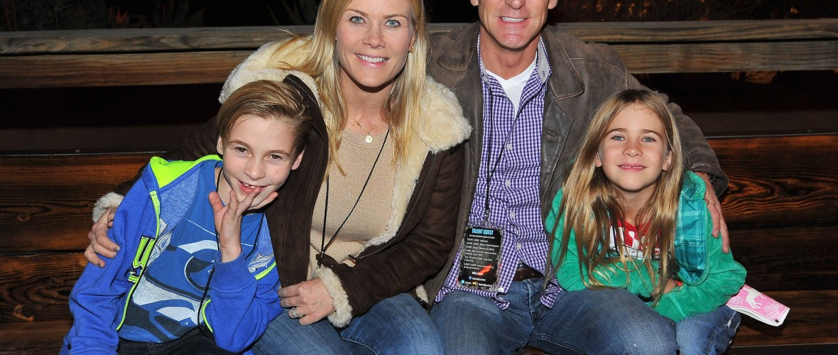 alison sweeney family getty images