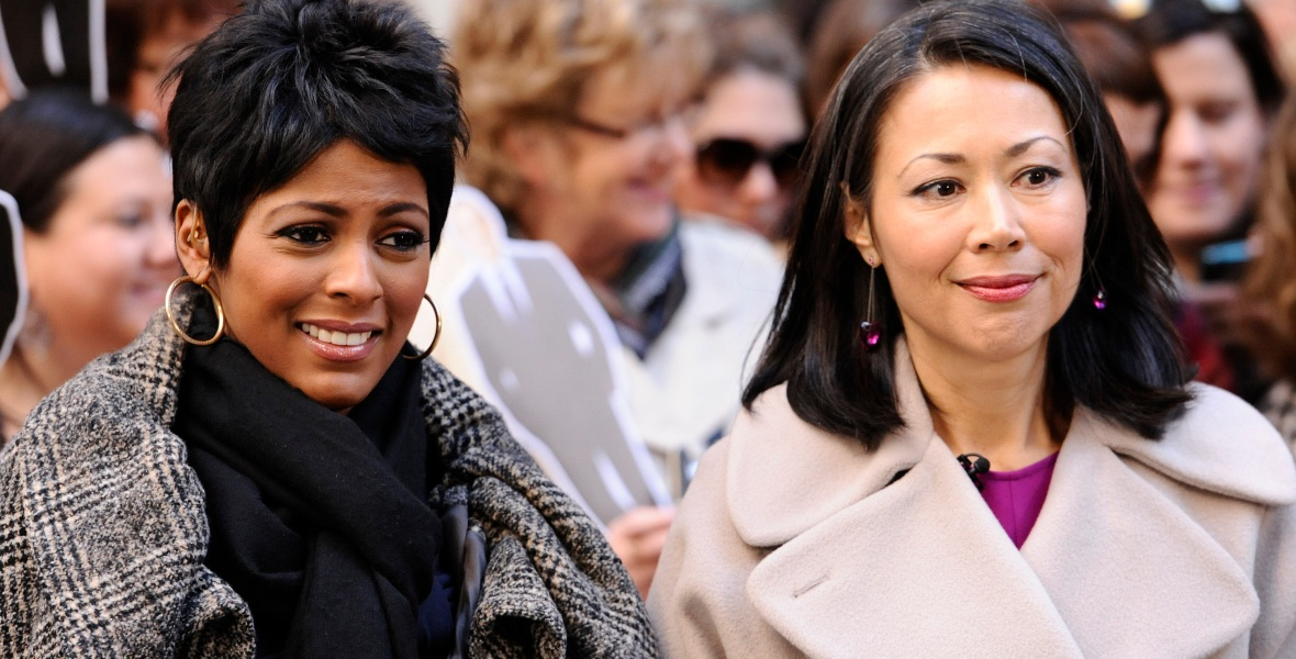 ann curry tamron hall getty images