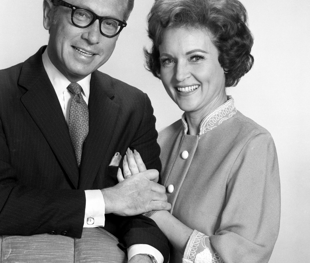 betty white allen ludden getty images