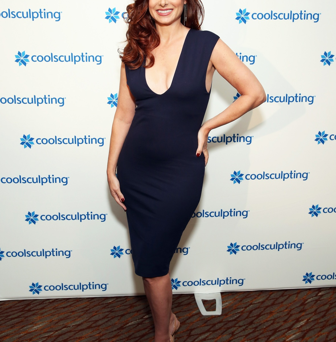 debra messing getty images