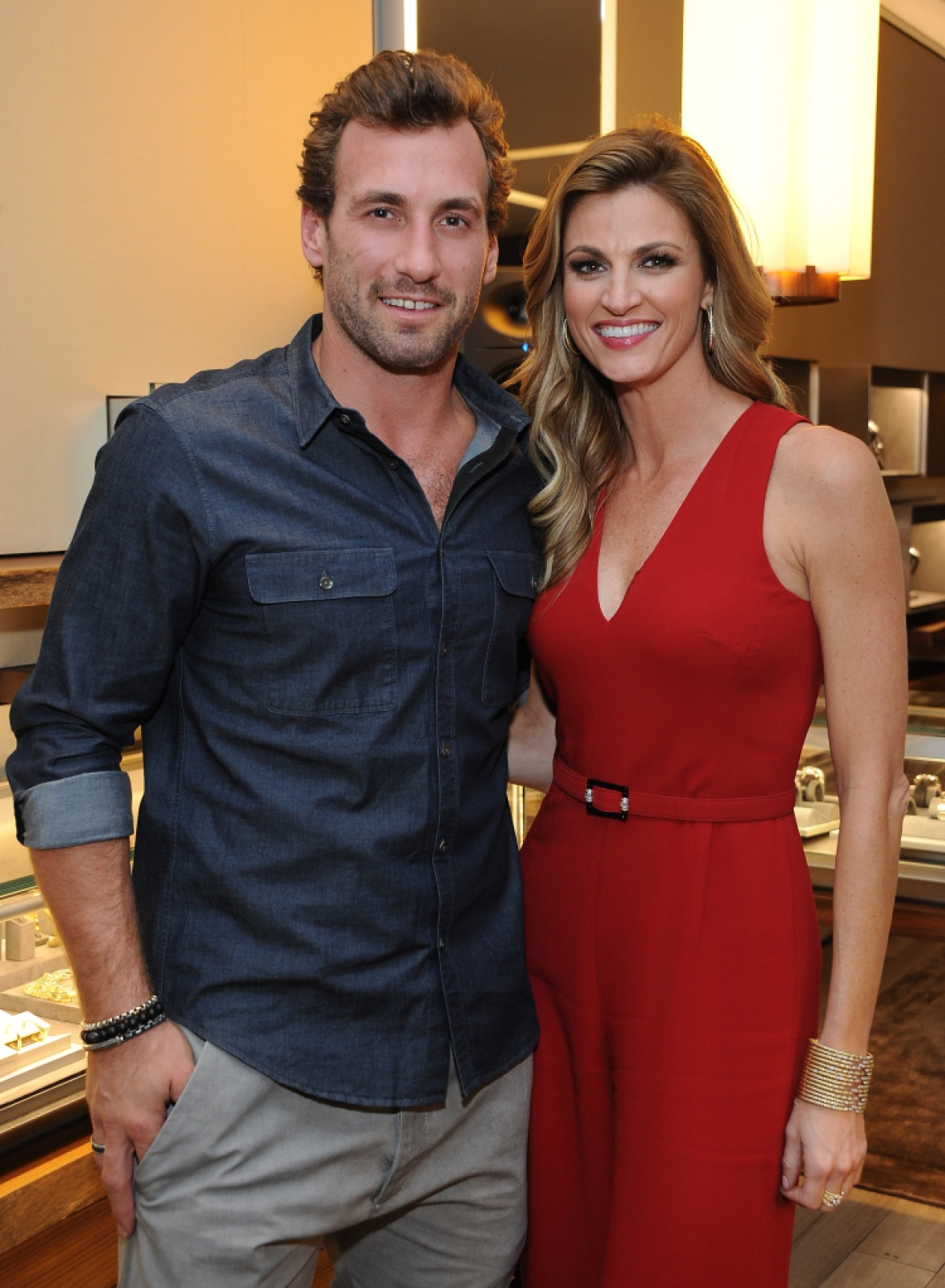 erin andrews jarret stoll getty images
