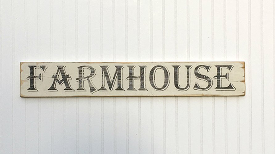farmhouse sign gift