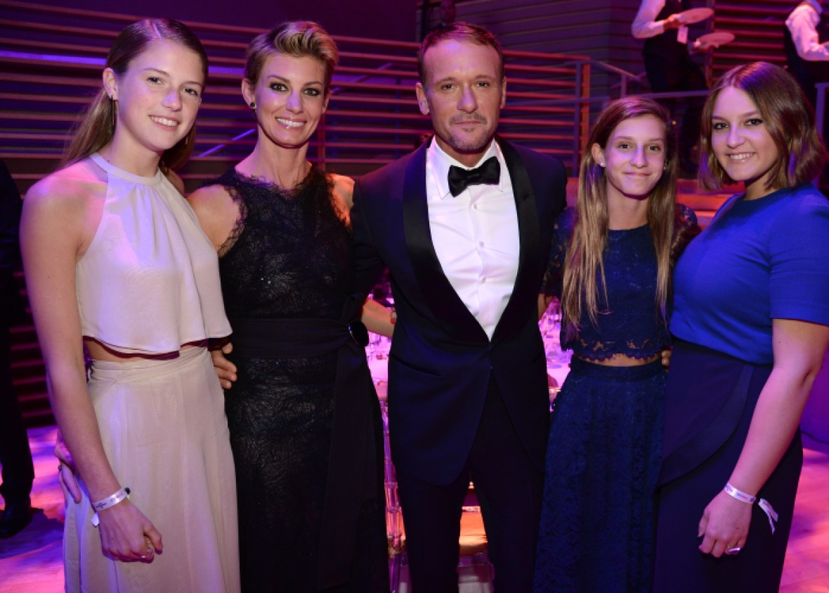 tim mcgraw family getty images